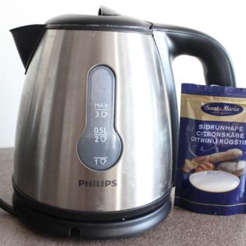 Sidrunhape – parim viis katlakivi eemaldamiseks veekeetjast ja kohvimasinast