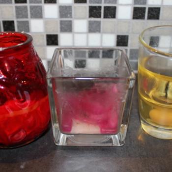 Kuidas eemaldada klaasilt küünlavaha?